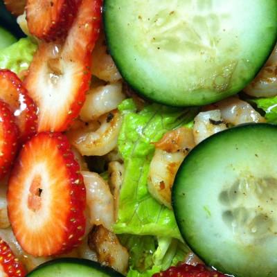 Shrimp & Strawberry Salad
