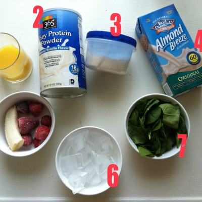Spinach Protein Shake