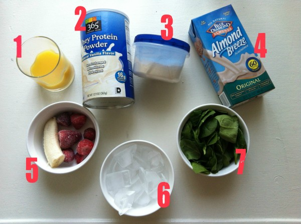 Spinach Protein Shake - Simply Nicole