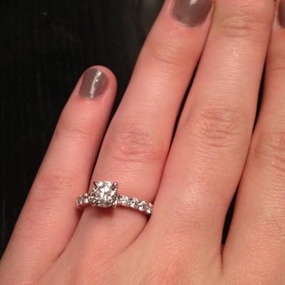 … I said YES!