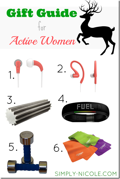 gift guide for active women