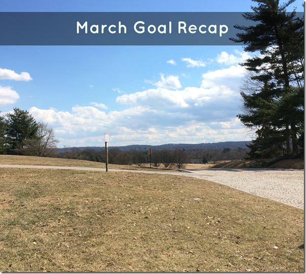 march goal recap