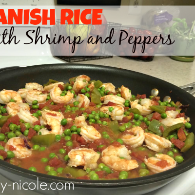 Spanish Rice with Shrimp and Peppers