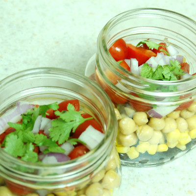 Corn and Bean Salad To Go
