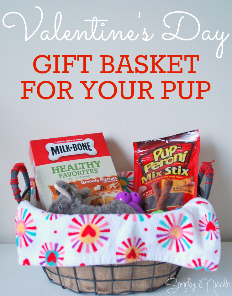 Valentine's Day Gift Basket for your pup