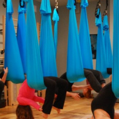 My First Aerial Yoga Experience