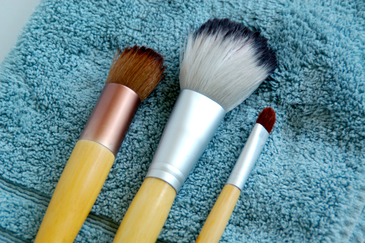 Clean Your Makeup Brushes Naturally4