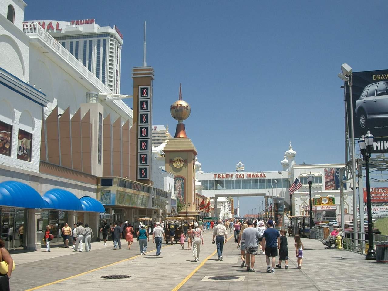Atlantic City Boardwalk Nj Things To Do In Atlantic City