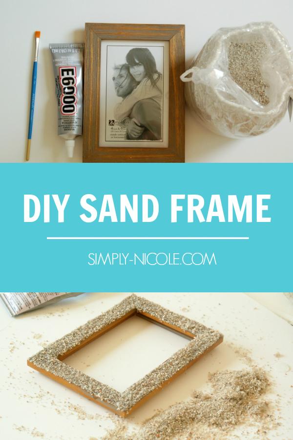DIY Sand Frame