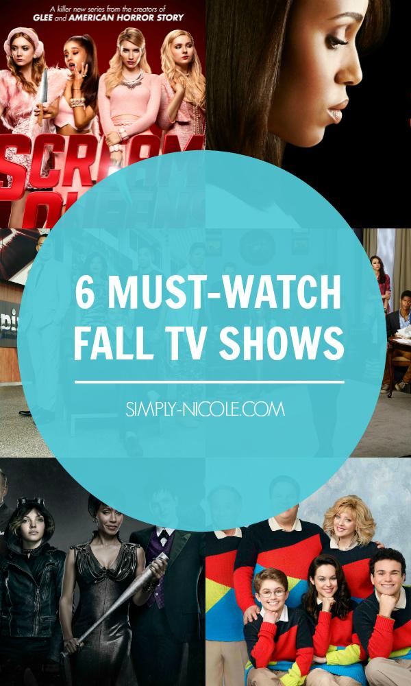 Mustwatch Fall Tv Shows Watch