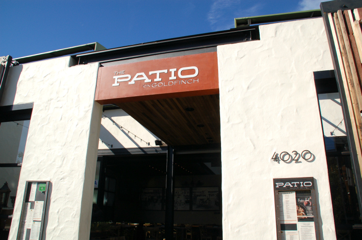 The patio on goldfinch review