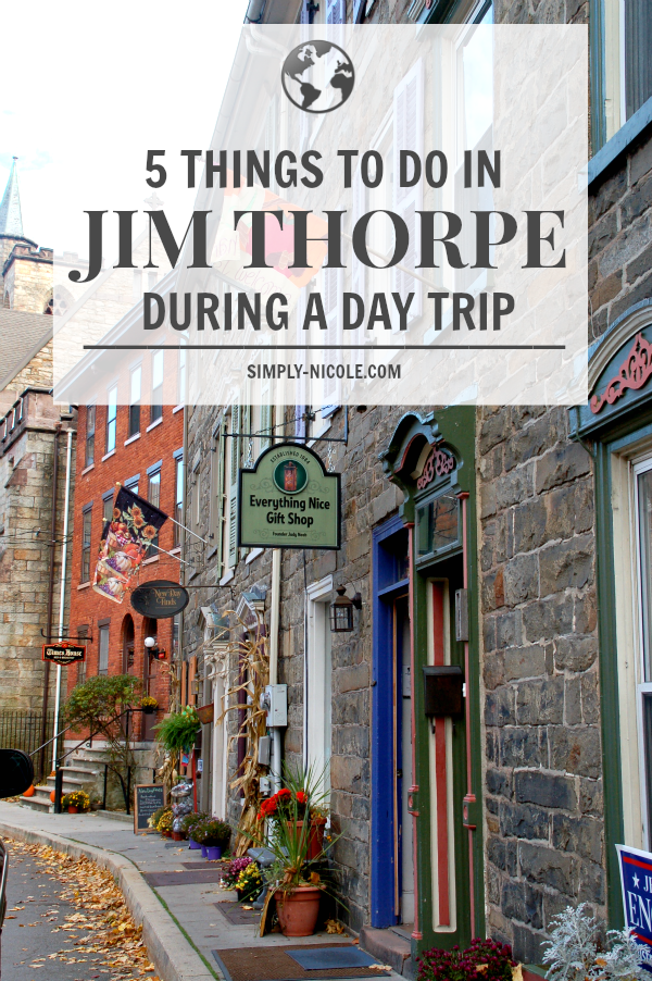 5 things to do in jim thorpe during a day trip simply nicole for Best places to visit in us during christmas