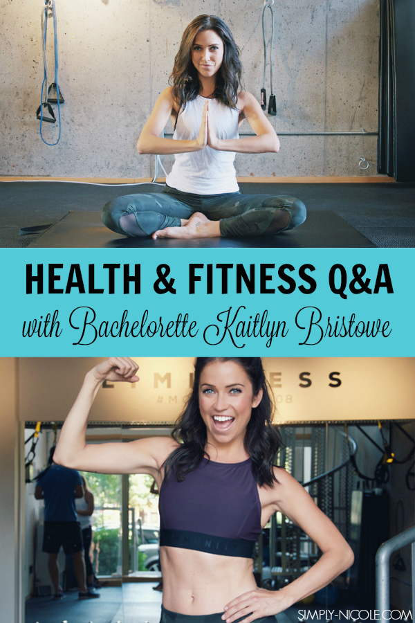 health and fitness kaitlyn bristowe interview