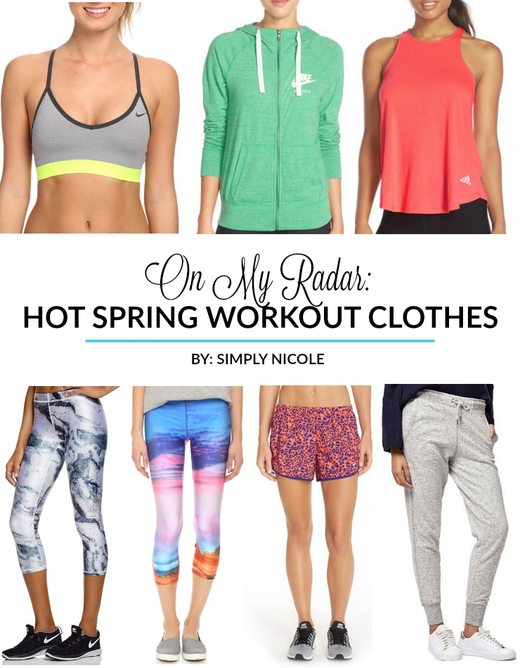 hot spring workout clothes