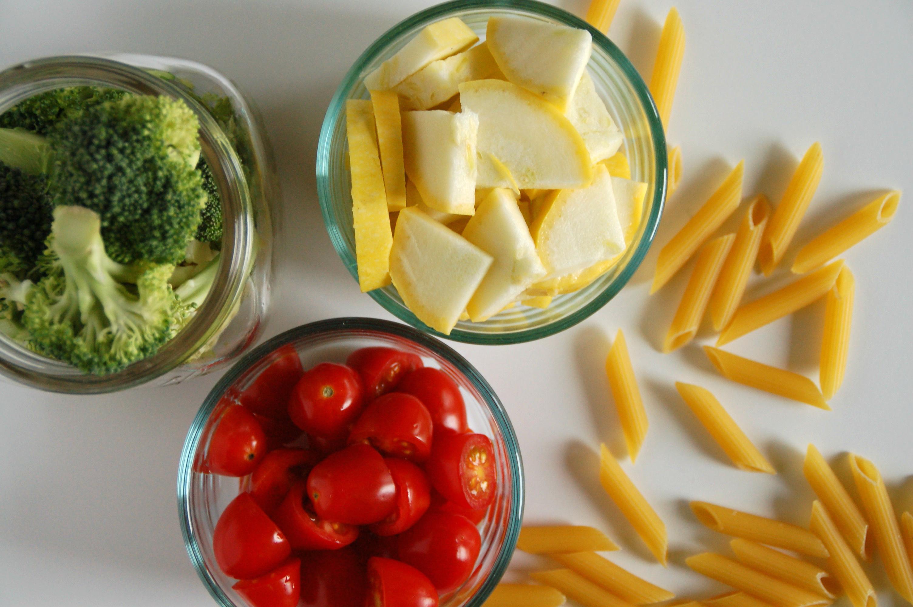 veggie marinara pasta