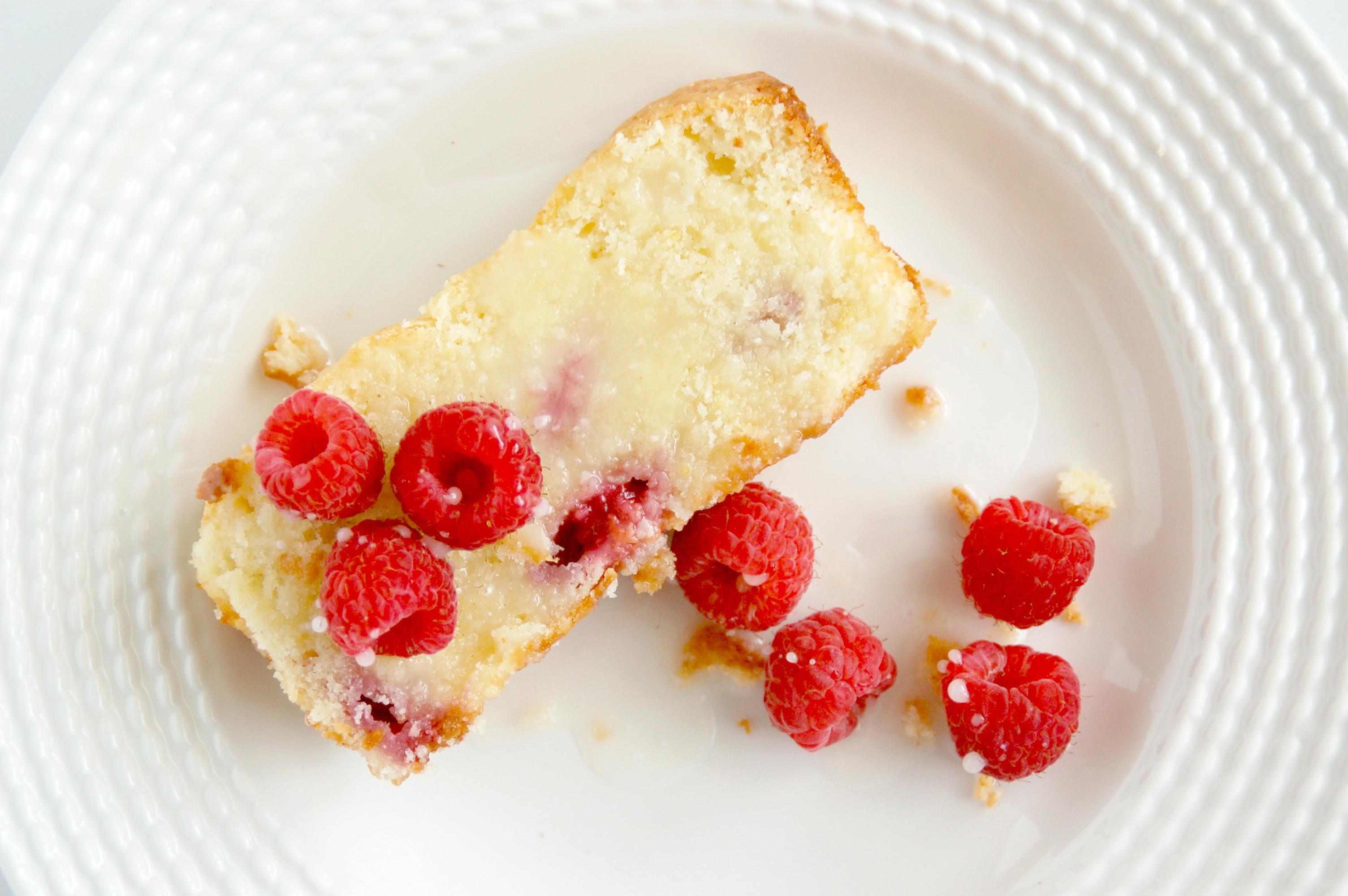 raspberry lemon pound cake recipe