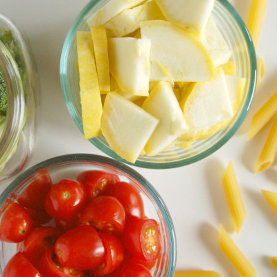 Veggie Marinara Pasta, Pronto!