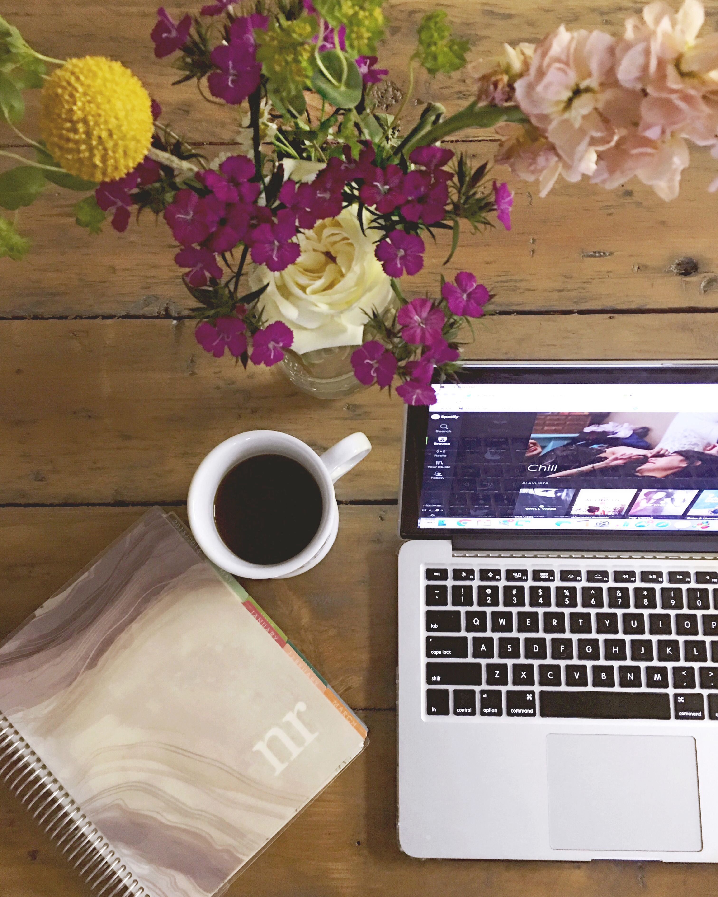 blogging mornings
