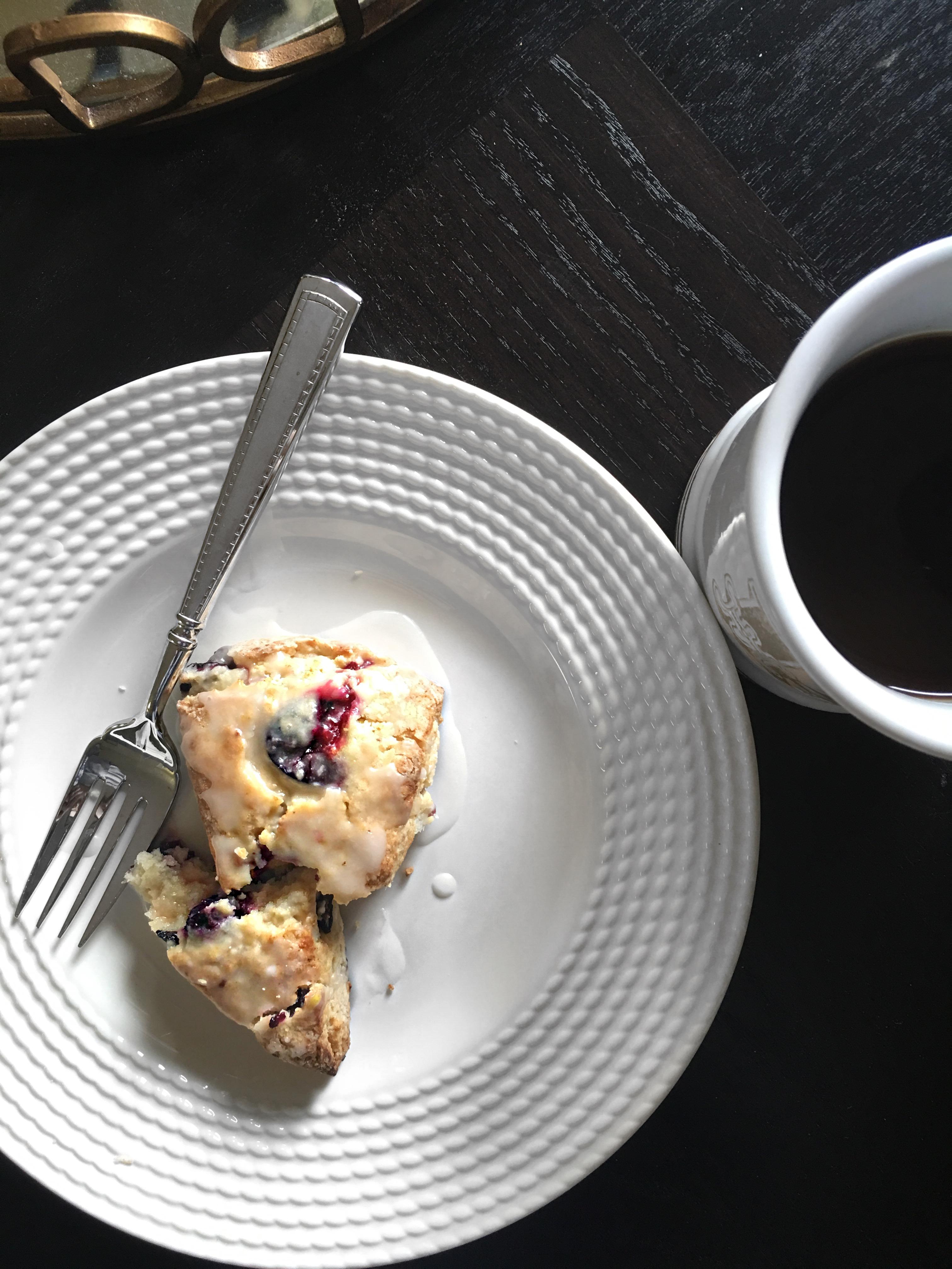 sally baking addiction blueberry lemon scones