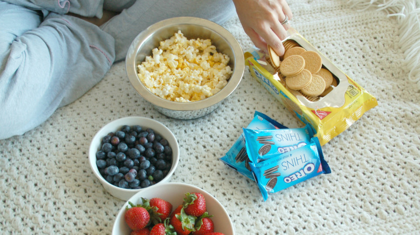 The Snacks You Need for a Fun Movie Night In