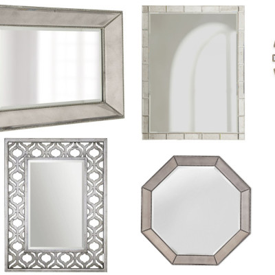 On My Radar: Chic Entryway Mirrors