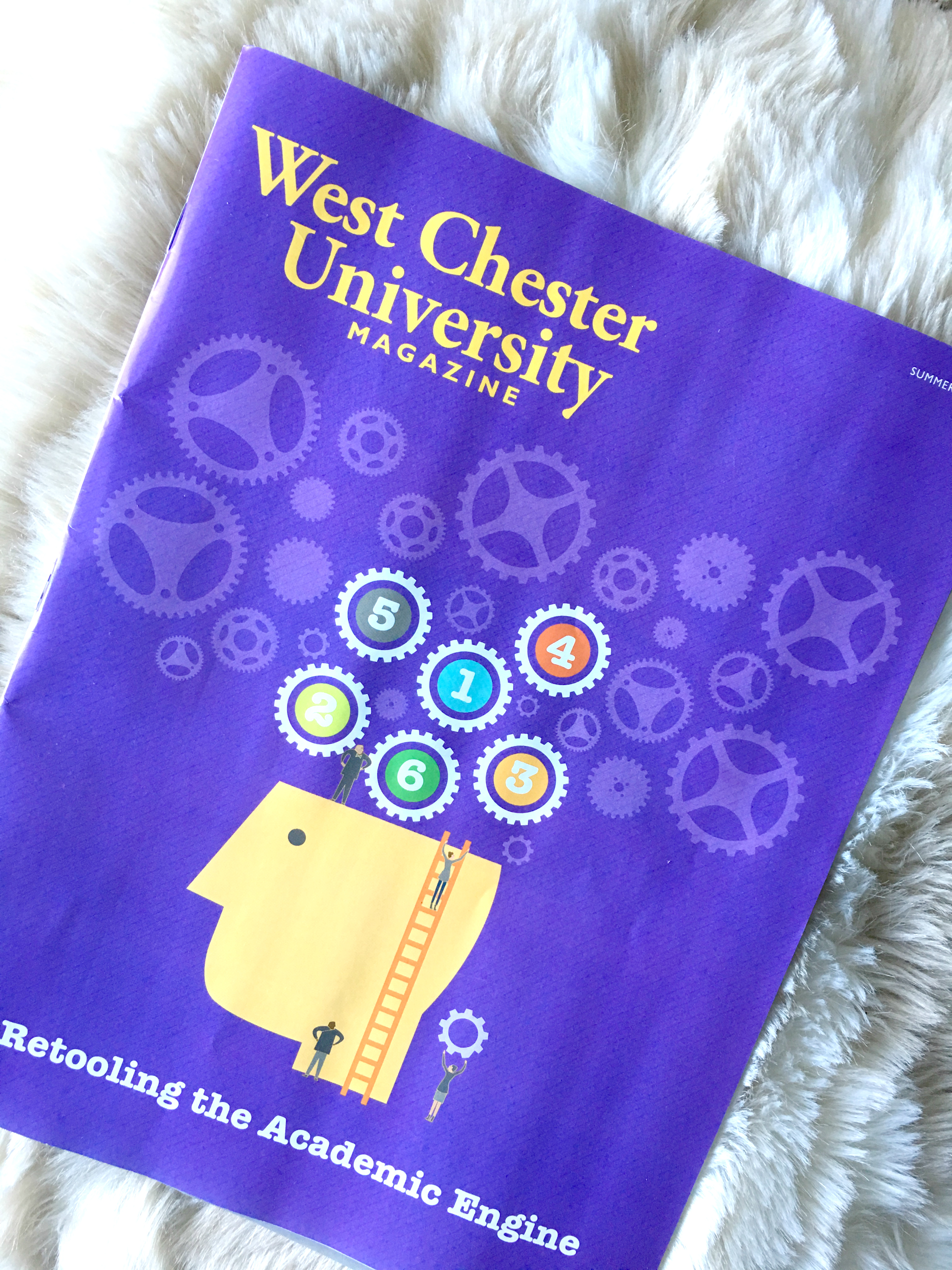 west chester university magazine