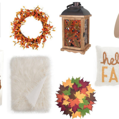 On My Radar: Cozy Fall Decor