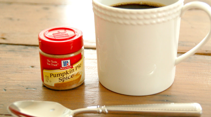 Pumpkin Pie Spice in Coffee Doesn't Make You Basic