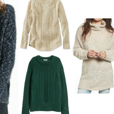 On My Radar: Chunky Fall Sweaters