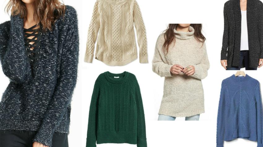 On My Radar: Chunky Fall Sweaters
