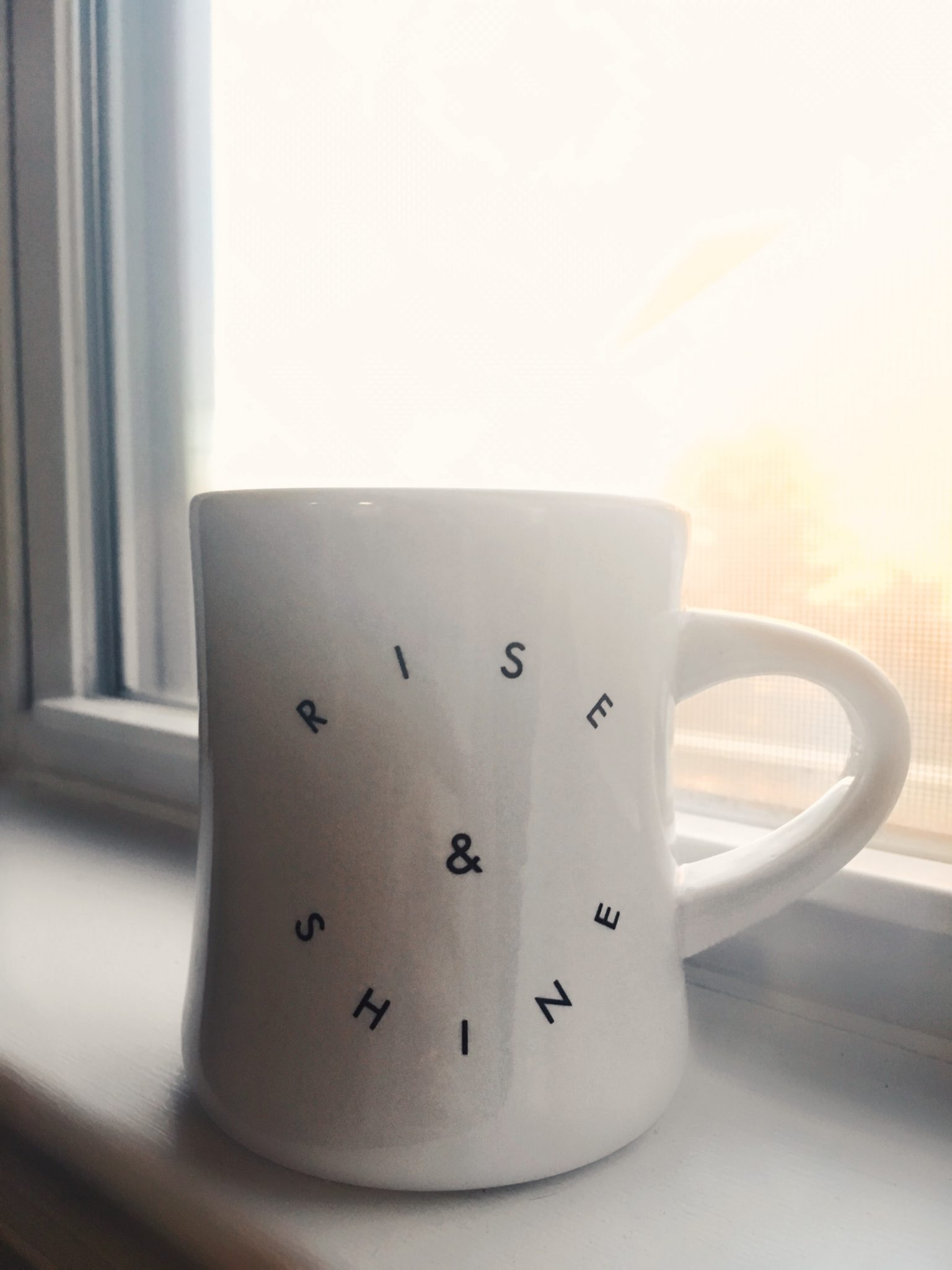 rise and shine mug