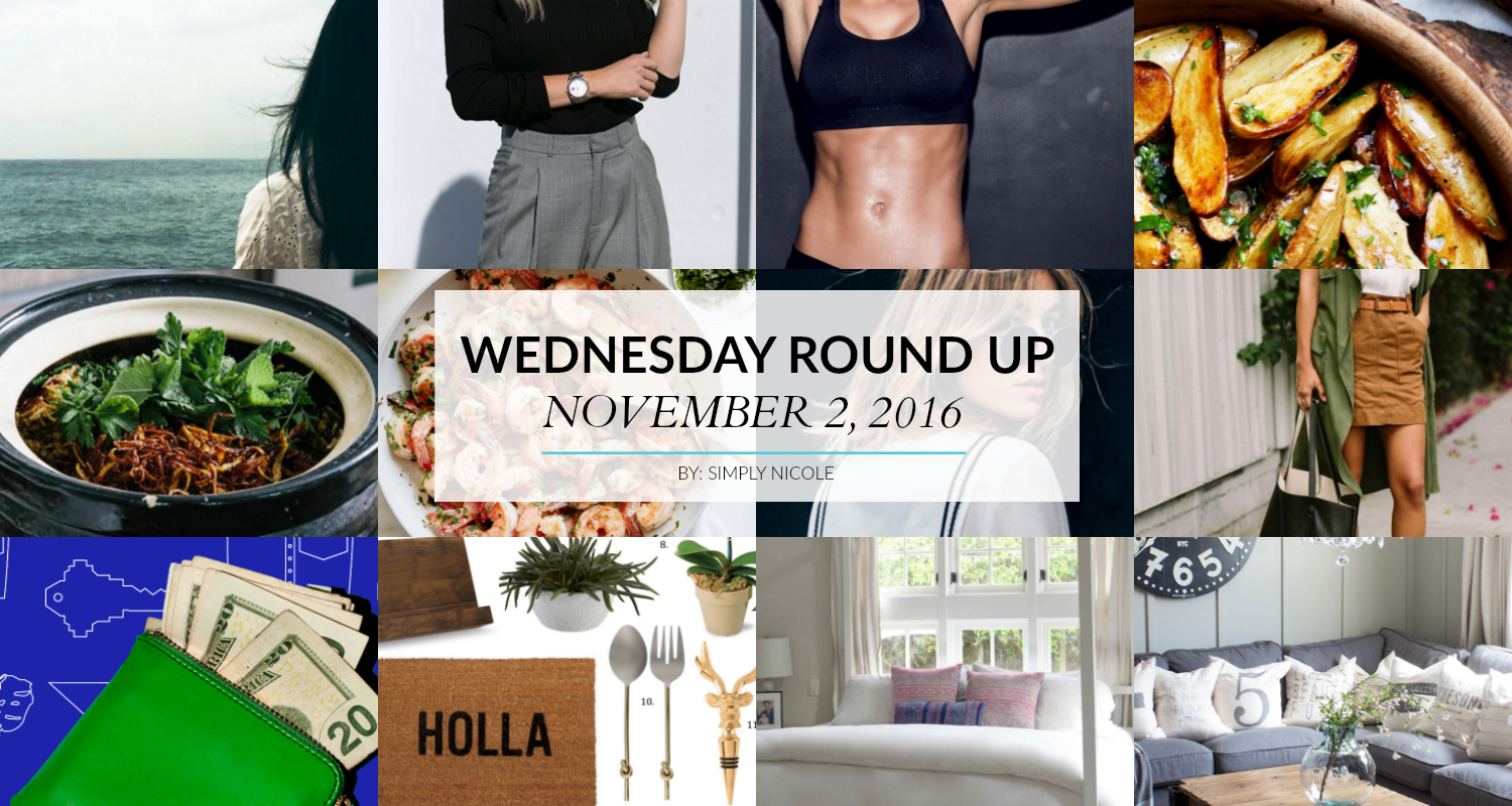 Wednesday Round Up on Simply Nicole