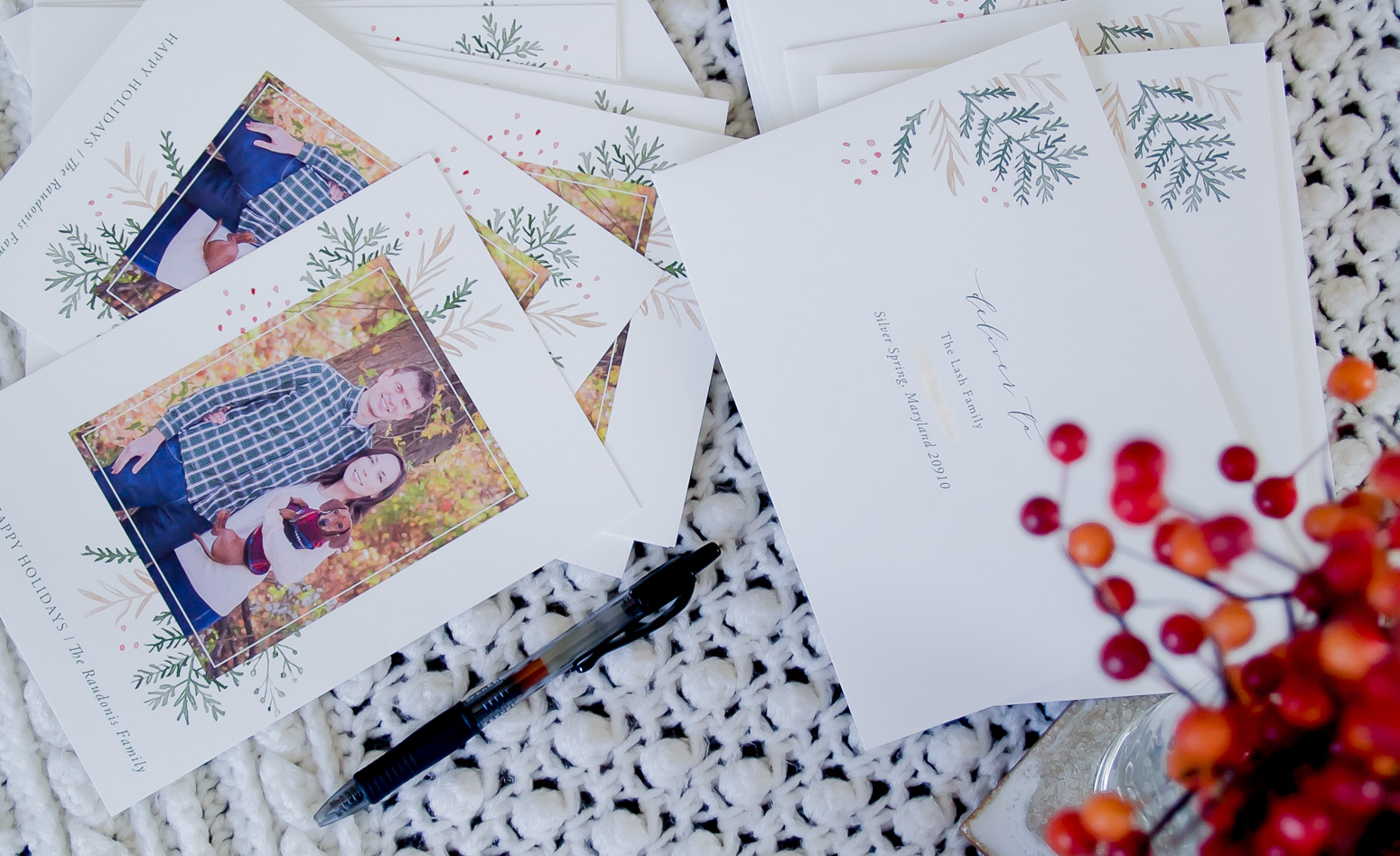 Minted Christmas Card Review