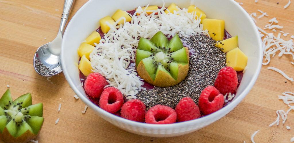 Tropical Smoothie Bowl Recipe