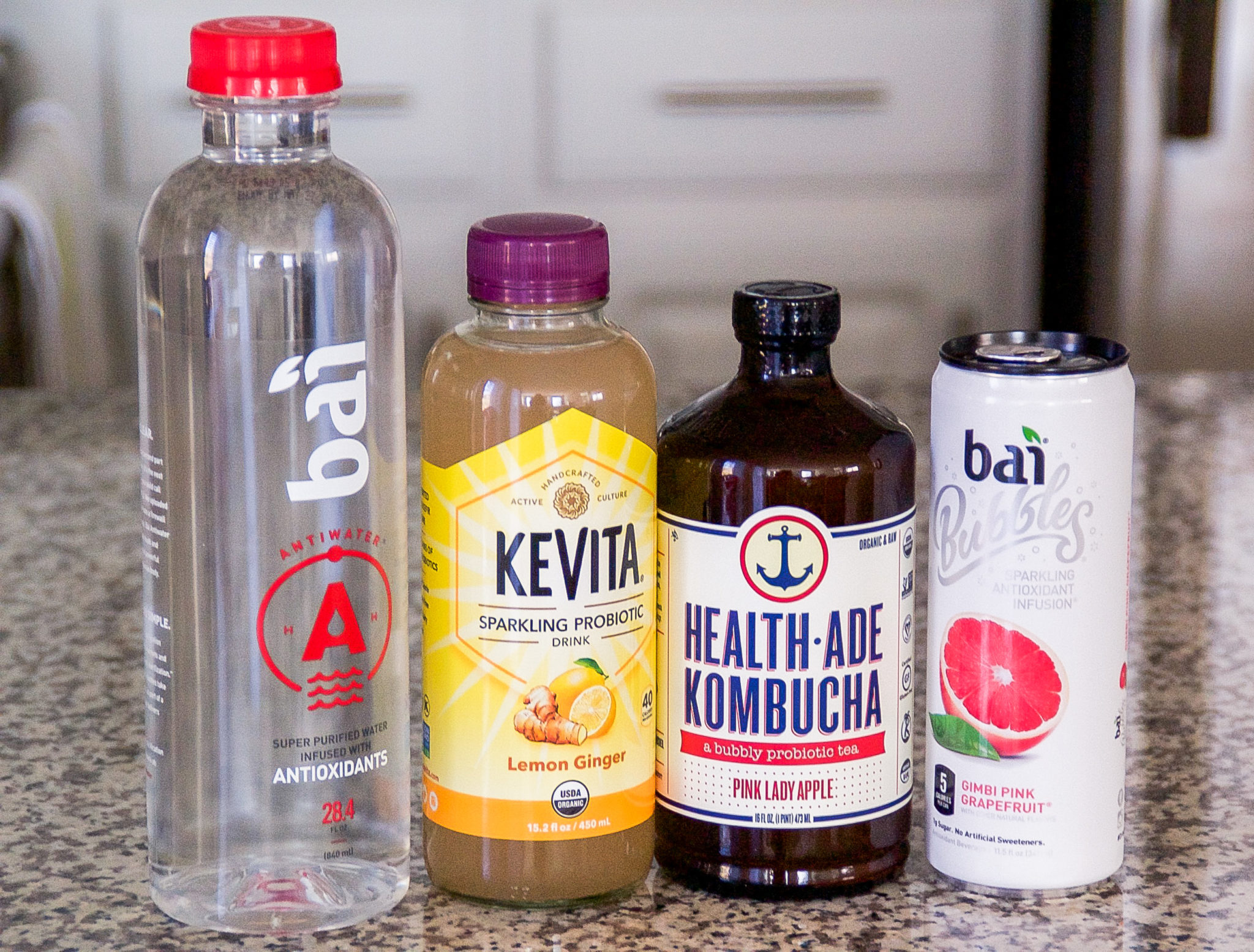 Healthy and delicious on-the-go drinks