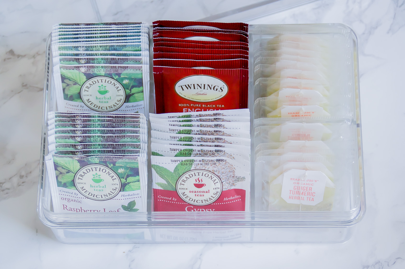 The Best Tea Organizer
