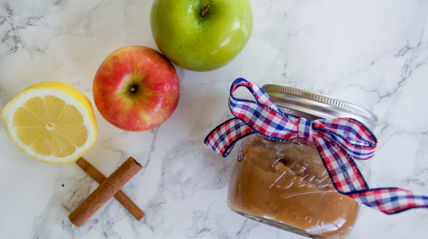 Simple & Sweet Apple Butter {without a Crock Pot}