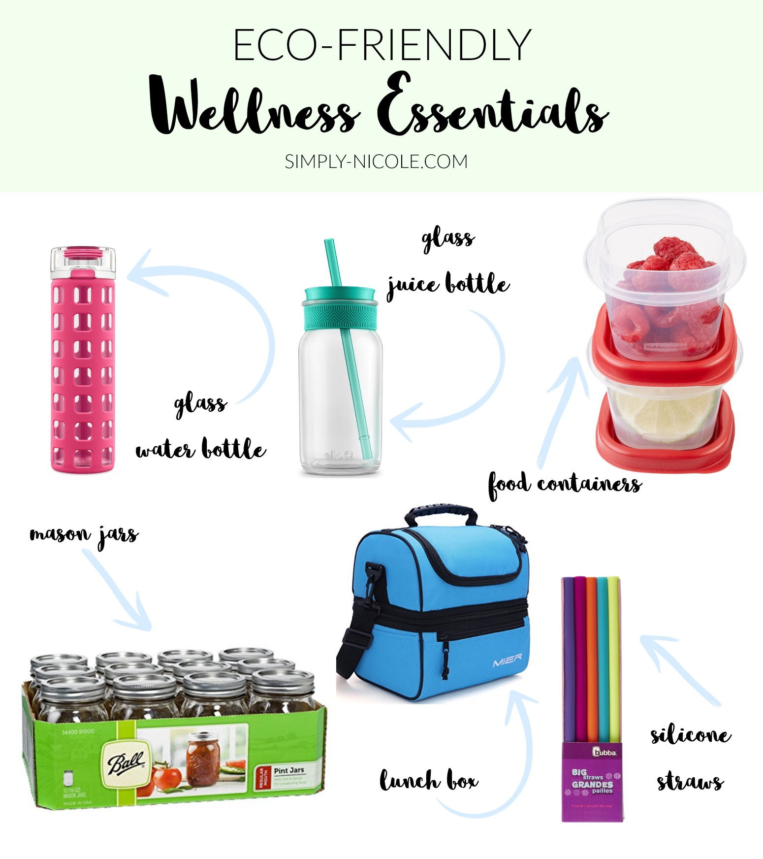 Eco-friendly wellness essentials on Simply Nicole