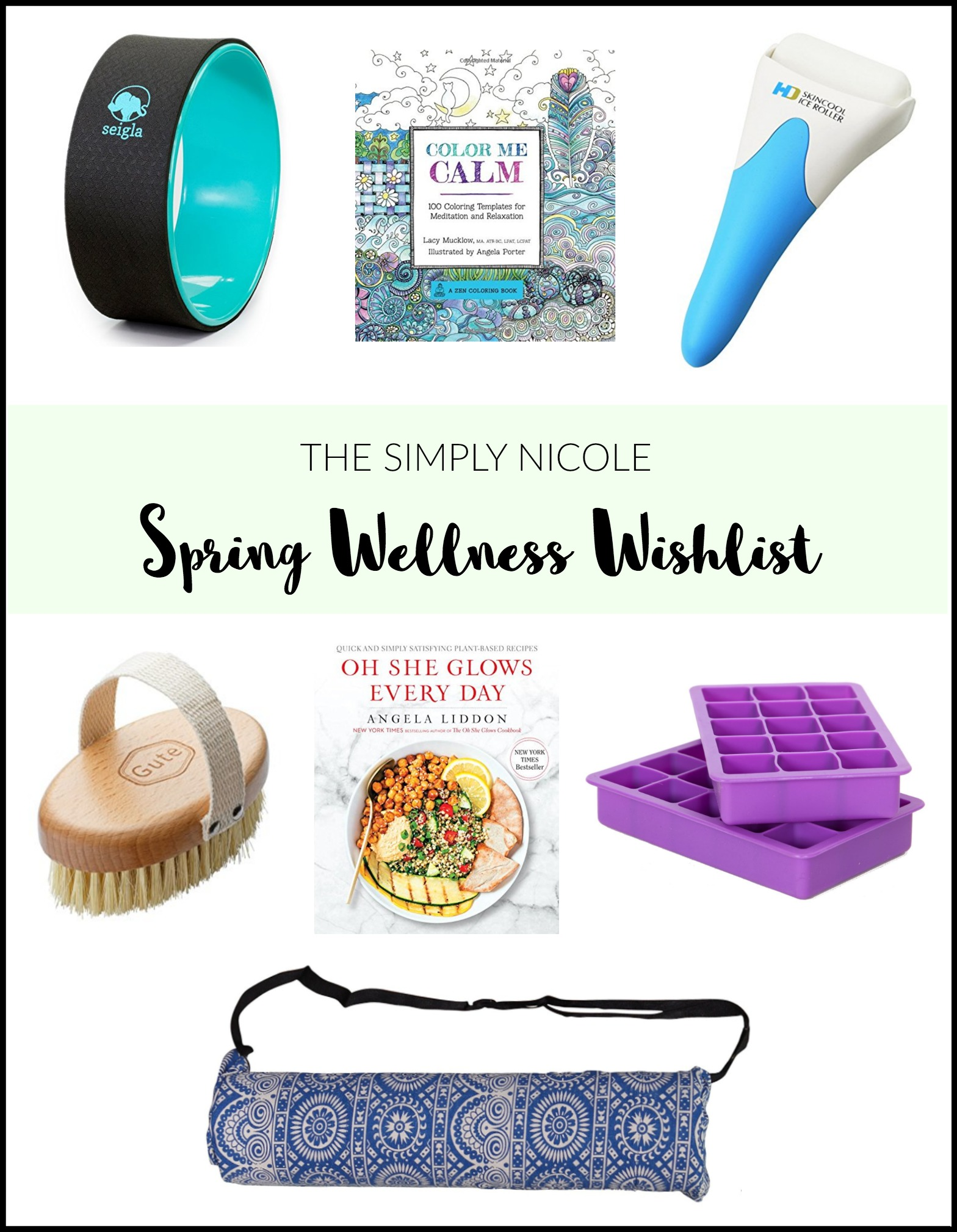 spring wellness wishlist