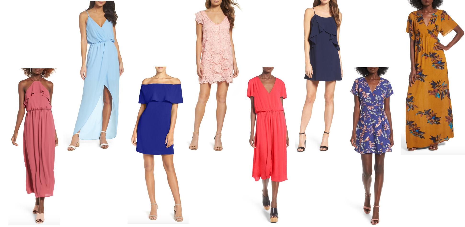 affordable summer dresses for weddings and baby showers