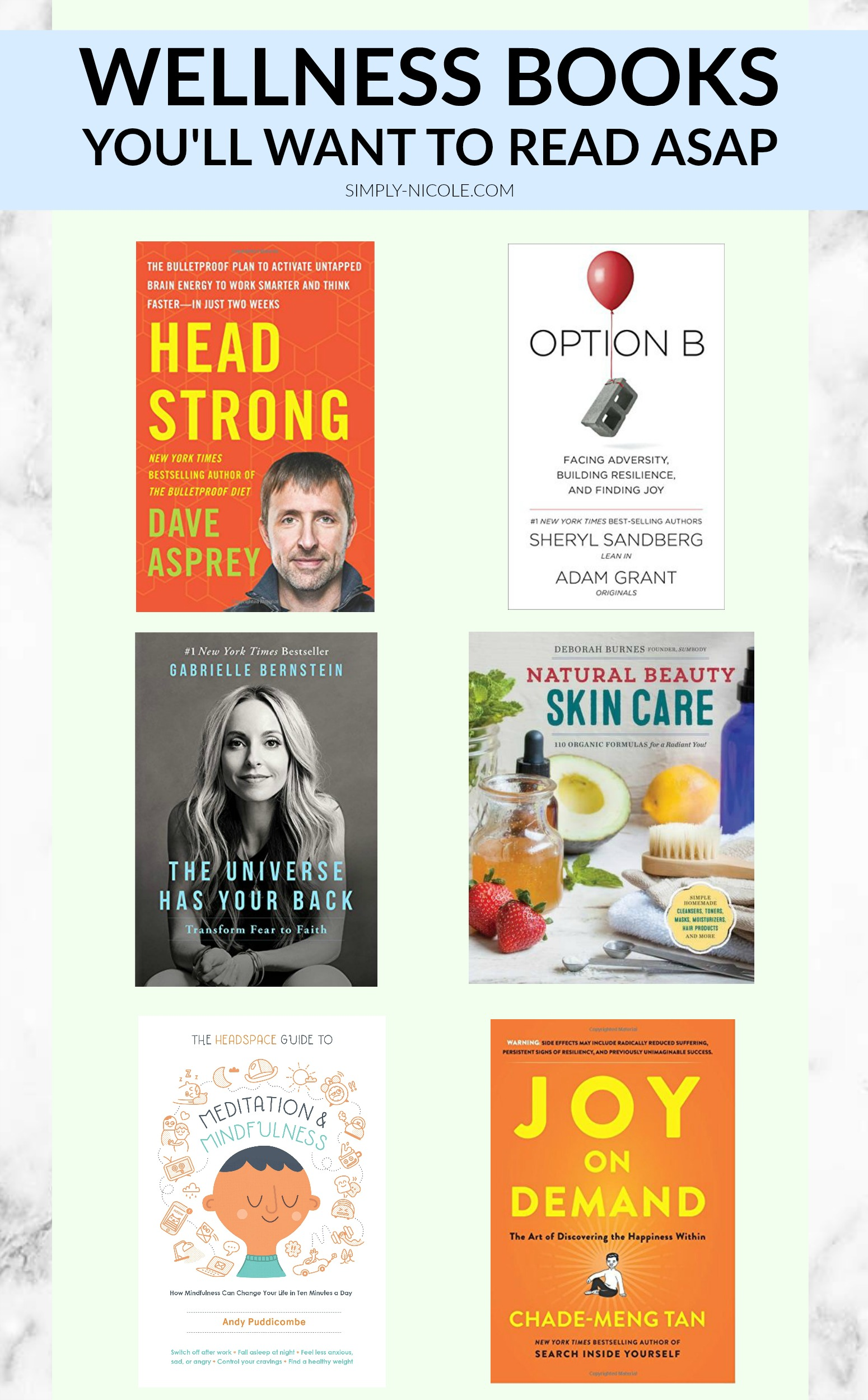 Wellness Books You'll Want to Read ASAP