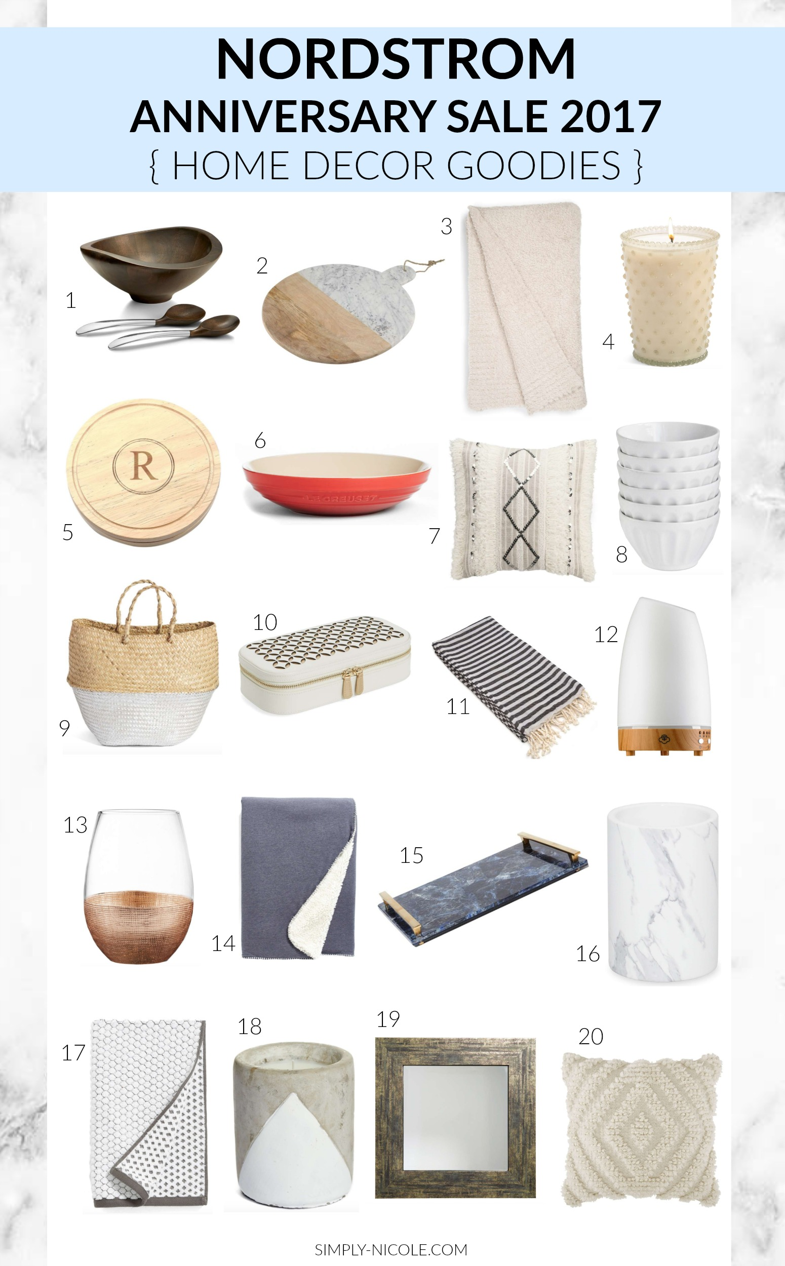 Nordstrom Anniversary Sale Home Decor Favorites