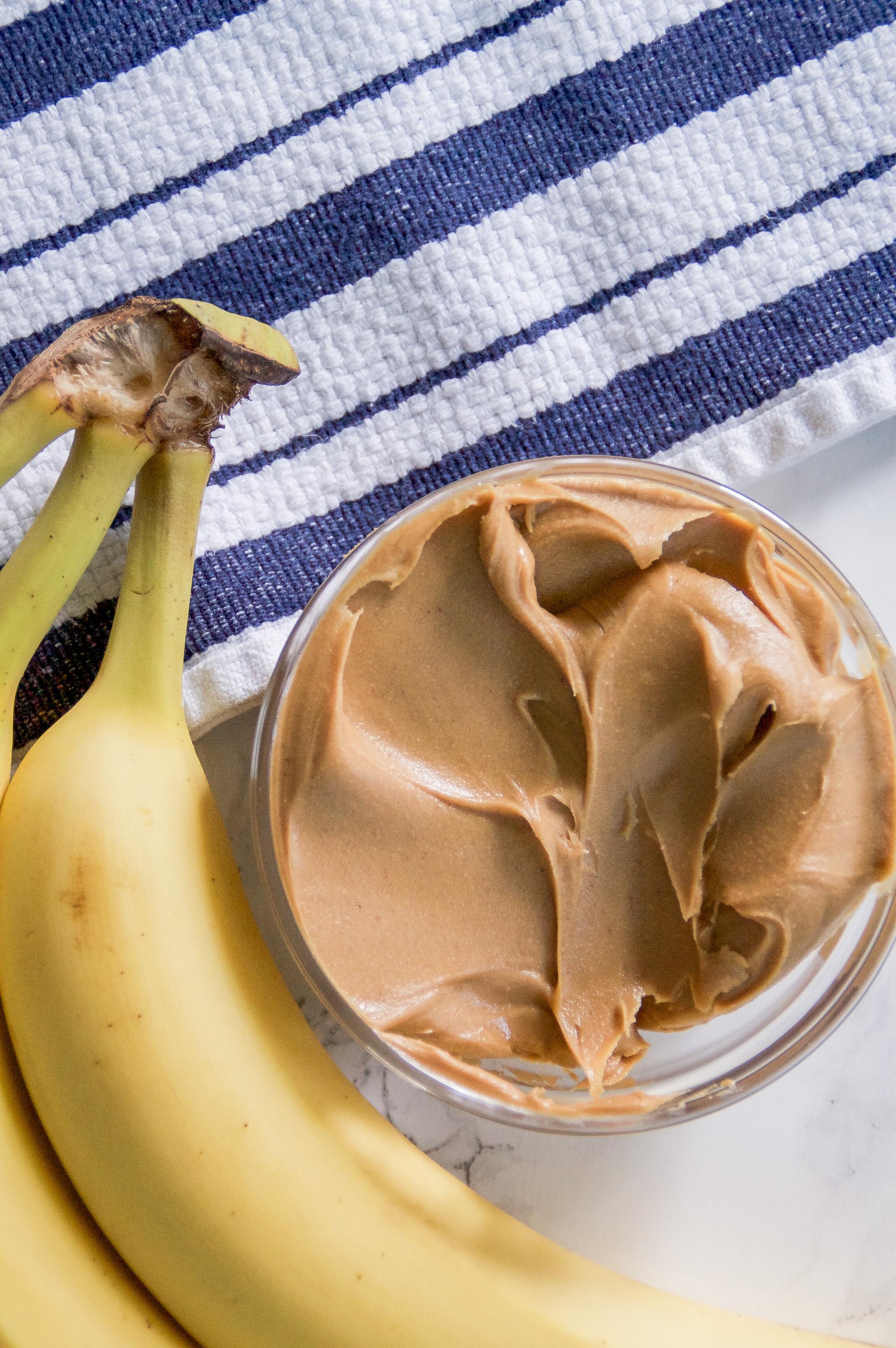 Peanut butter banana dog treat recipe