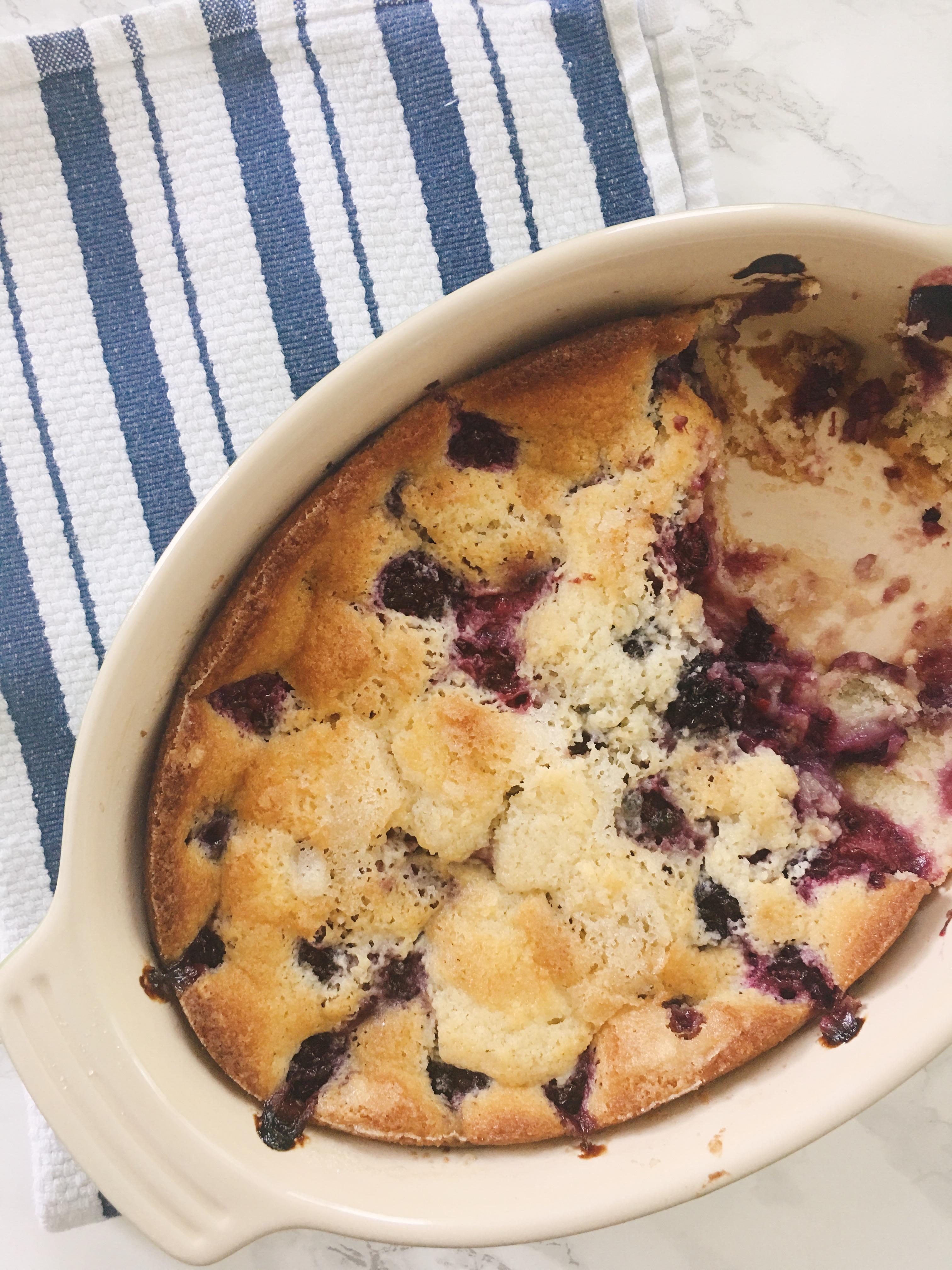 the pioneer woman's blackberry cobbler
