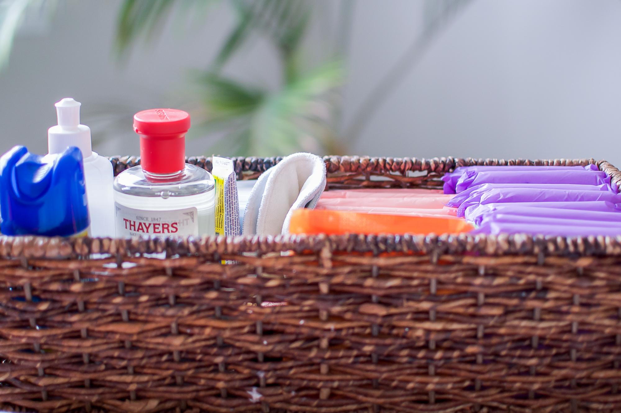 Postpartum essentials kit