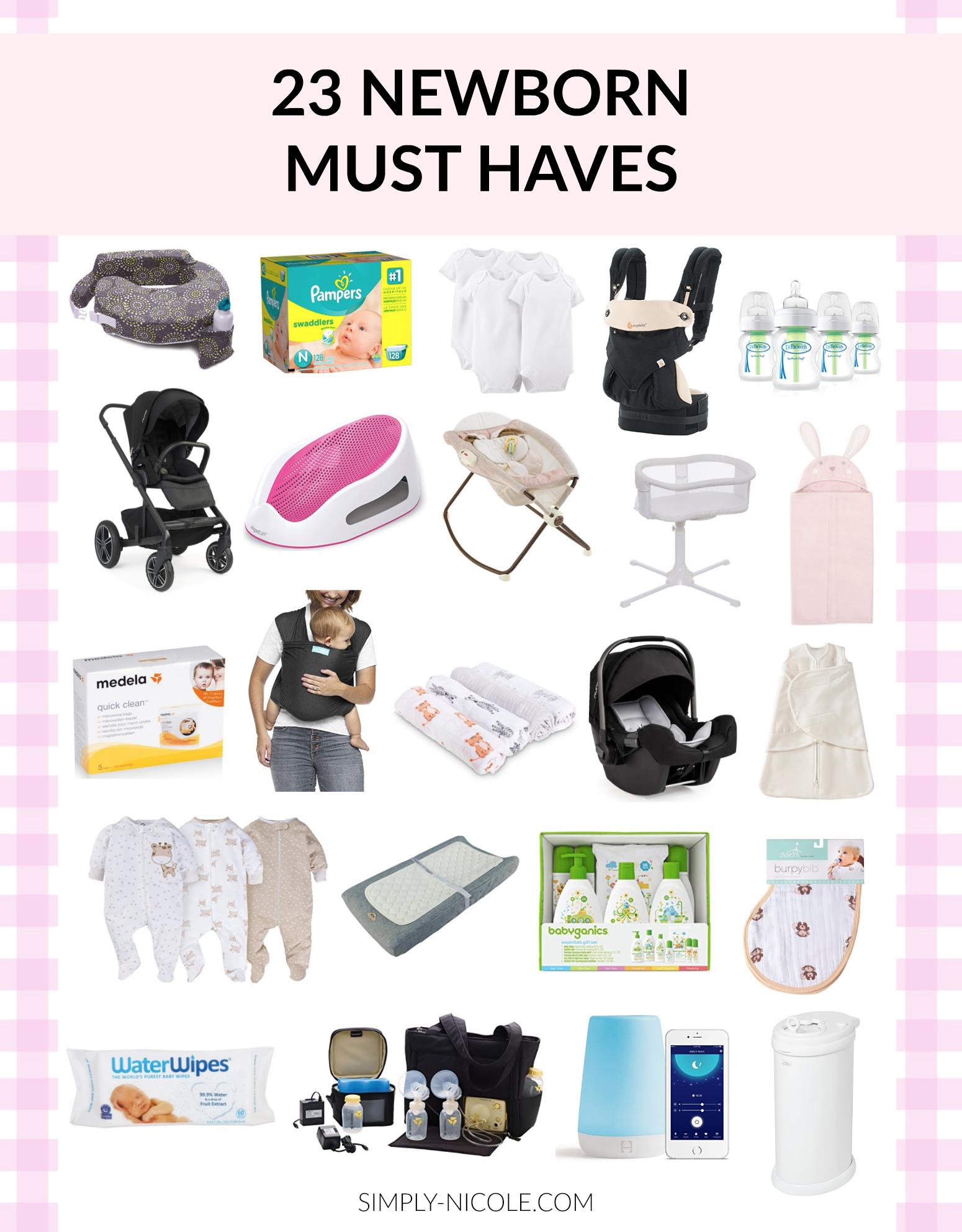 Newborn Essentials 23 Items That Helped Us Crush Month 1